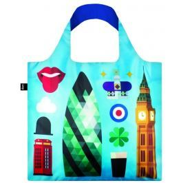 Skládací nákupní taška LOQI HEY STUDIO London
