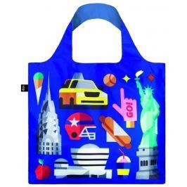 Skládací nákupní taška LOQI HEY STUDIO New York