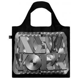 Skládací nákupní taška LOQI SAGMEISTER & WALSH New York Retro