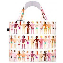 Skládací nákupní taška LOQI STEPHEN CHEETHAM Sexy
