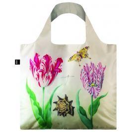 Skládací nákupní taška LOQI JACOB MARREL Two Tulips