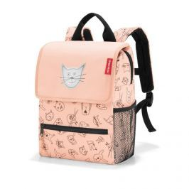 Dětský batoh Reisenthel Backpack kids Cats and dogs rose