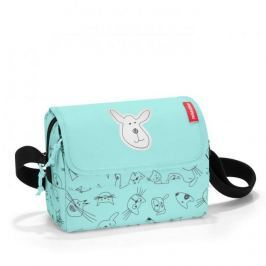 Dětská kabelka Reisenthel Everydaybag kids Cats and dogs mint