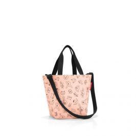 Dětská taška přes rameno Reisenthel Shopper XS kids Cats and dogs rose
