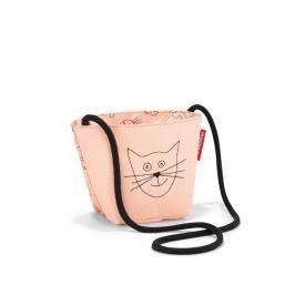Dětská taštička přes rameno Reisenthel Minibag kids Cats and dogs rose