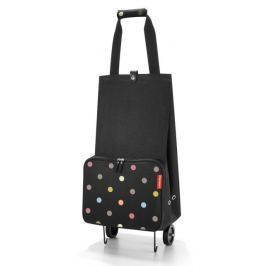 Nákupní taška na kolečkách Reisenthel Foldabletrolley Dots