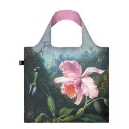 Skládací nákupní taška LOQI MARTIN JOHNSON HEADE Still Life with Orchid