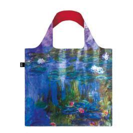 Skládací nákupní taška LOQI CLAUDE MONET Water Lilies