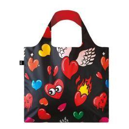 Skládací nákupní taška LOQI POP Hearts