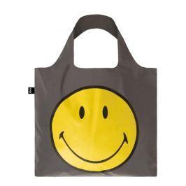 Skládací nákupní taška LOQI REFLECTIVE Smiley