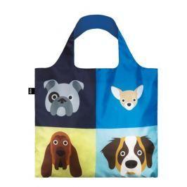 Skládací nákupní taška LOQI STEPHEN CHEETHAM Dogs