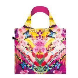 Skládací nákupní taška LOQI SHINPEI NAITO Flower Dream