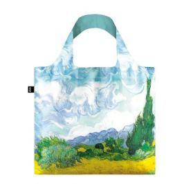 Skládací nákupní taška LOQI VINCENT VAN GOGH A Wheat Field with Cypresses