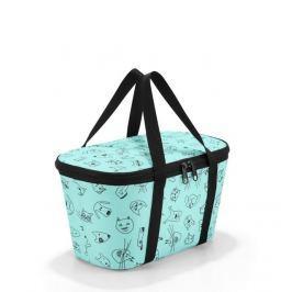Dětská chladící taška Reisenthel Coolerbag XS kids Cats and dogs mint