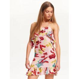 Top Secret šaty dámské květované na ramínka