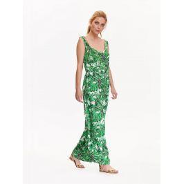 Top Secret šaty dámské dlouhé zelené na ramínkách