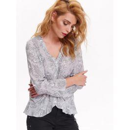 Top Secret Košile dámská vzorovaná s dlouhým rukávem