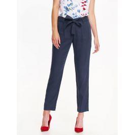 Top Secret Kalhoty dámské společenské s látkovým páskem