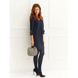Top Secret šaty dámské v tmavě modré barvě s 3/4 rukávem