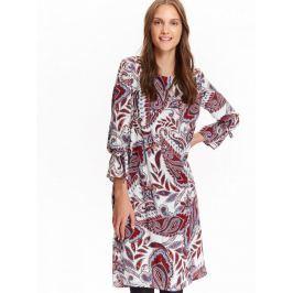 Top Secret šaty dámské vzorované s 3/4 rukávem