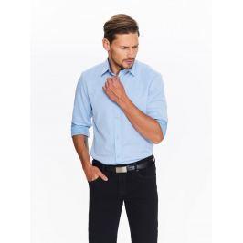 Top Secret Košile pánská světle modrá s dlouhým rukávem