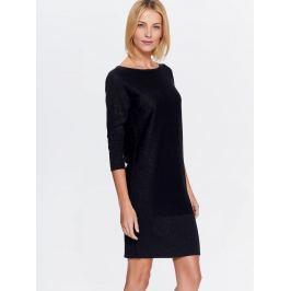 Top Secret šaty dámské z metalizované příze a 3/4 rukávem