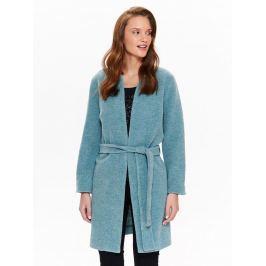 Top Secret Kabát dámský s páskem a kruhovým výstřihem