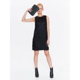 Top Secret šaty dámské černé krajkové bez rukávu