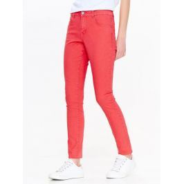 Top Secret Kalhoty dámské červené