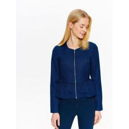 Top Secret Sako dámské modré na zip