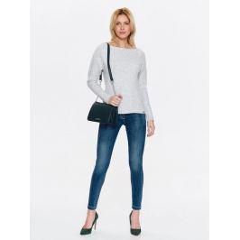 Top Secret Jeansy dámské SLIM se zipy na spodním lemu