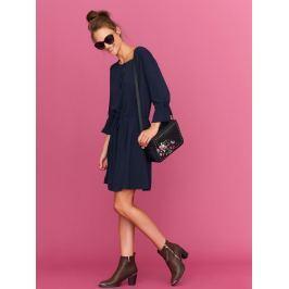 Top Secret šaty dámské tmavě modré s 3/4 rukávem