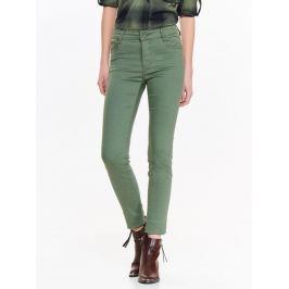 Top Secret Jeansy dámské zelené