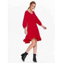 Top Secret šaty dámské s volánkemé a 3/4 rukávem