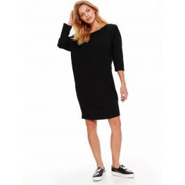Top Secret šaty dámské bavlněné se zavazovací tkanicí a 3/4 rukávem