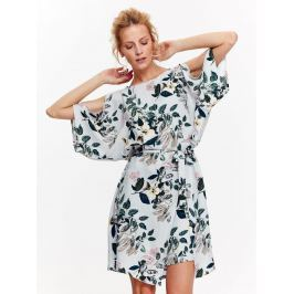 Top Secret šaty dámské květinové s netopýřím prostřiženým krátkým rukávem