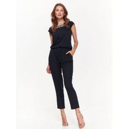 Top Secret Overal dámský dlouhý černý s krátkým rukávem