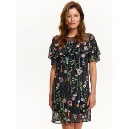 Top Secret šaty dámské květované s krátkým rukávem
