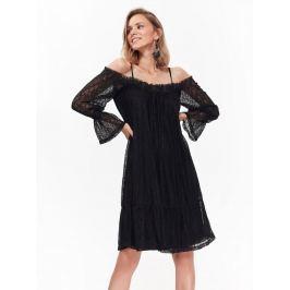 Top Secret šaty dámské z černé krajky