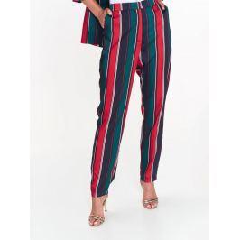 Top Secret Kalhoty dámské pruhované s volnými nohavicemi