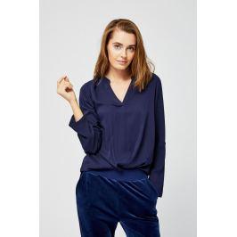 Moodo Košile dámská s dlouhým rukávem bez zapínání