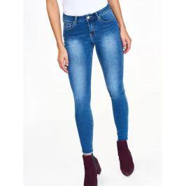 Top Secret Jeansy dámské modré