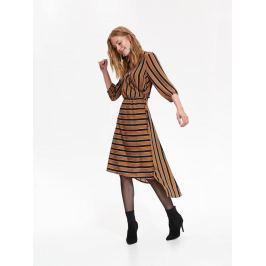 Top Secret Šaty dámské pruhované MIDI