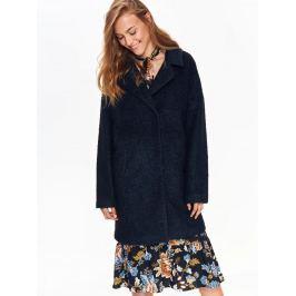 Top Secret Kabát dámský vlněný v červeném odstínu