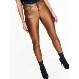 Top Secret Kalhoty dámské metalické