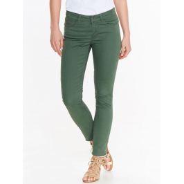 Top Secret Kalhoty dámské zelené SLIM