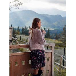 Top Secret Svetr dámský s dlouhým rukávem a zavazovací tkanicí