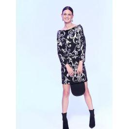 Top Secret Šaty dámské vzorované s dlouhým rukávem