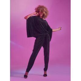 Top Secret Kalhoty dámské černé elastické