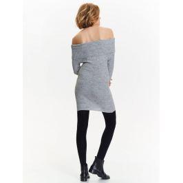 Top Secret šaty dámské pletené s odhalenými rameny